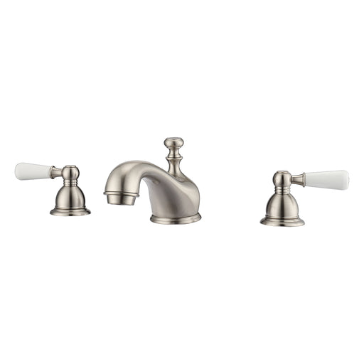 Marsala Widespread Lavatory Faucet with Porcelain Lever Handles