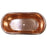 "Rochelle 66"" Copper Freestanding Tub"