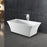 "Taylor 67"" Acrylic Tub with Integral Drain and Overflow"