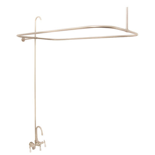 Tub/Shower Converto Unit – Gooseneck Spout for Acrylic Tubs