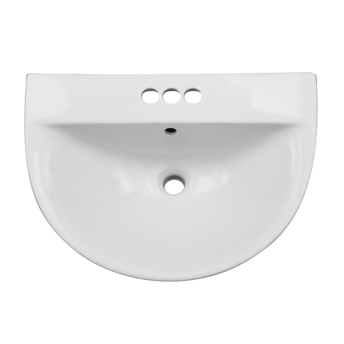 Morning 600 Wall-Hung Basin