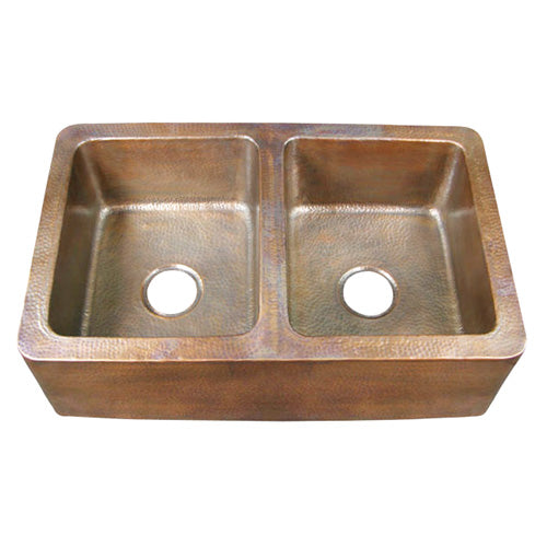 Pembroke Double Bowl Farmhouse Apron Sink