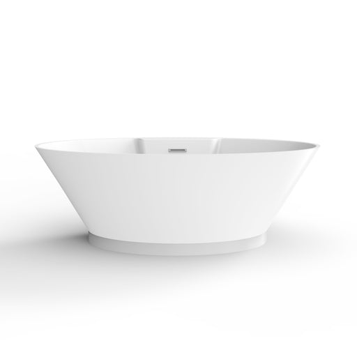 "Portia 67"" Acrylic Freestanding Tub with Integral Drain"