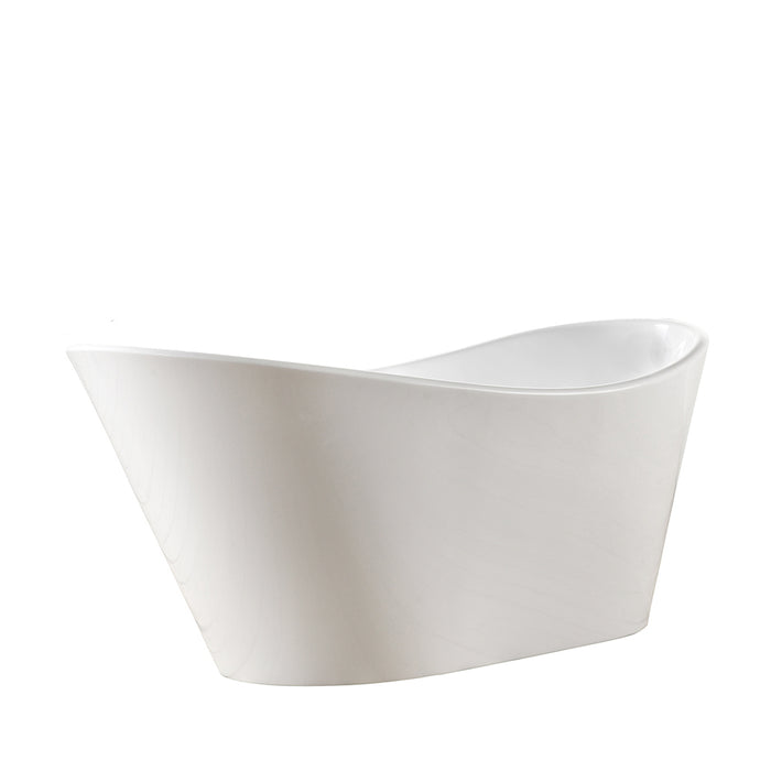 "Marilyn 71"" Acrylic Slipper Tub"