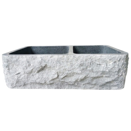 Brandi Double Bowl Granite Farmer Sink