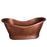 Allegro 66″ Copper Double Slipper Tub