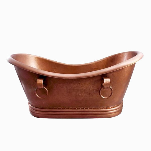 Baylis 66″ Copper Double Slipper Tub