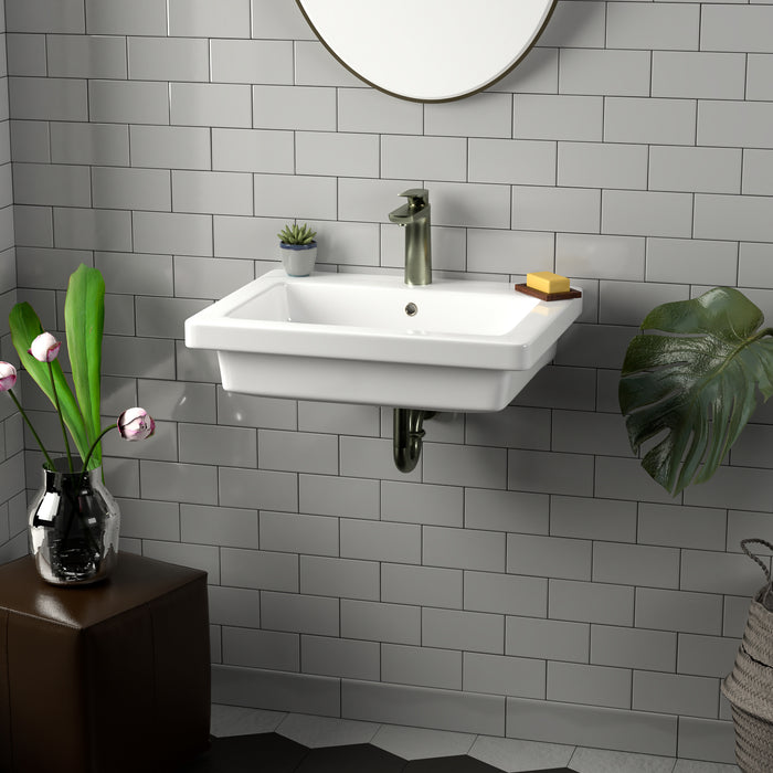 Resort 550 Wall-Hung Basin