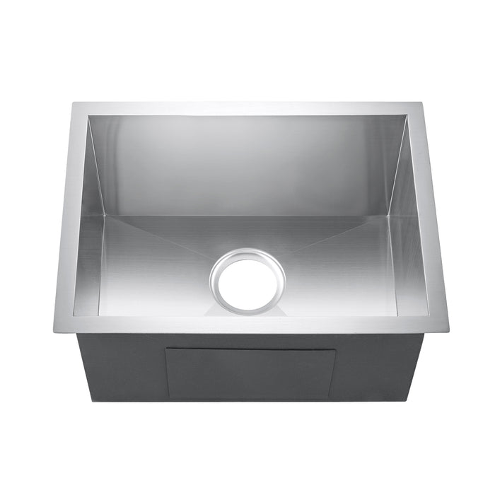 "20"" Sabrina Stainless Steel Prep Sink"