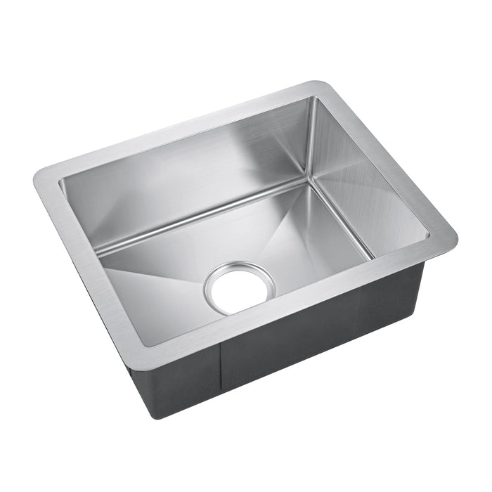 "21"" Uberto Stainless Steel Prep Sink"