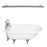 Beecher 60″ Cast Iron Roll Top Tub Kit – Brushed Nickel Accessories