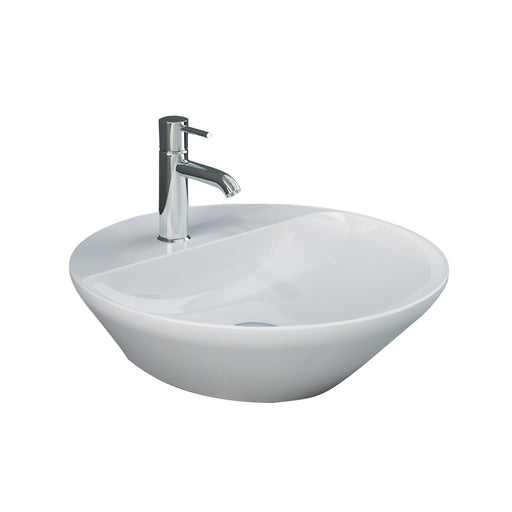 Variant Round Above Counter Basin with Deck