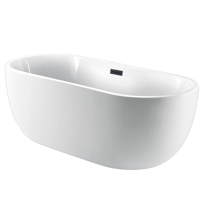 Pilar 65 Acrylic Freestanding Tub With Integral Drain And Overflow Barclay Products Limited