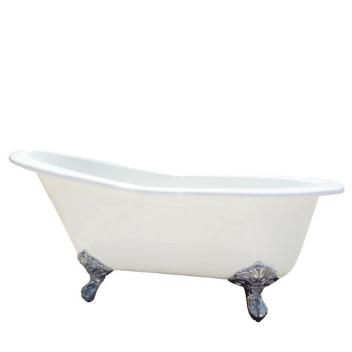 "Gavin 54"" Cast Iron Slipper Tub"