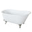 "Gareth 53"" Cast Iron Slipper Tub"