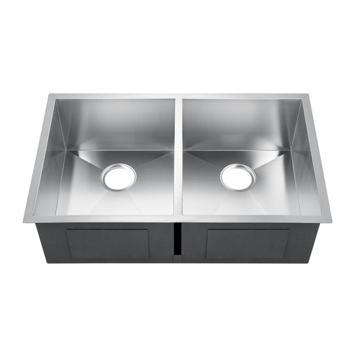 Jenessa Double Bowl Stainless Kitchen Sink