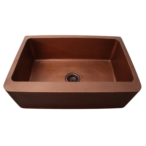 Bentley Single Bowl Copper Farmer Sink