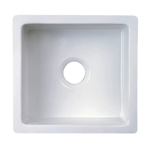 Silvia Single Bowl Fireclay Kitchen Sink