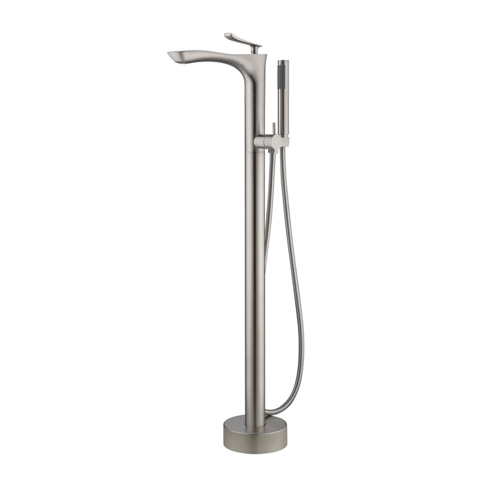 Kayla Freestanding Tub Filler with Hand-Shower