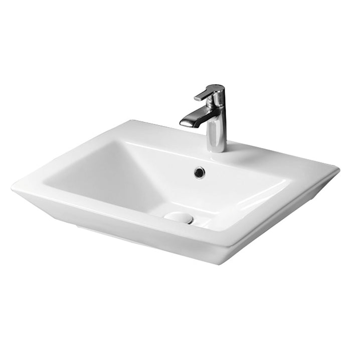 "Opulence 23″ Above Counter Basin – ""His"""