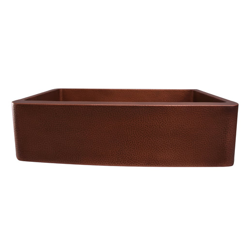 "Gatsby 34"" Single Bowl Copper Farmer Sink"