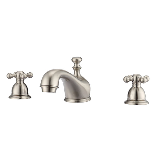 Marsala Widespread Lavatory Faucet with Metal Cross Handles