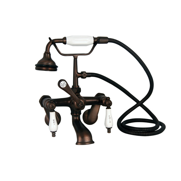 Marshall 72″ Cast Iron Double Slipper Tub Kit – Oil Rubbed Bronze Accessories