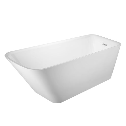 "Marakesh 68"" Acrylic Slipper Tub with Integral Drain and Overflow"