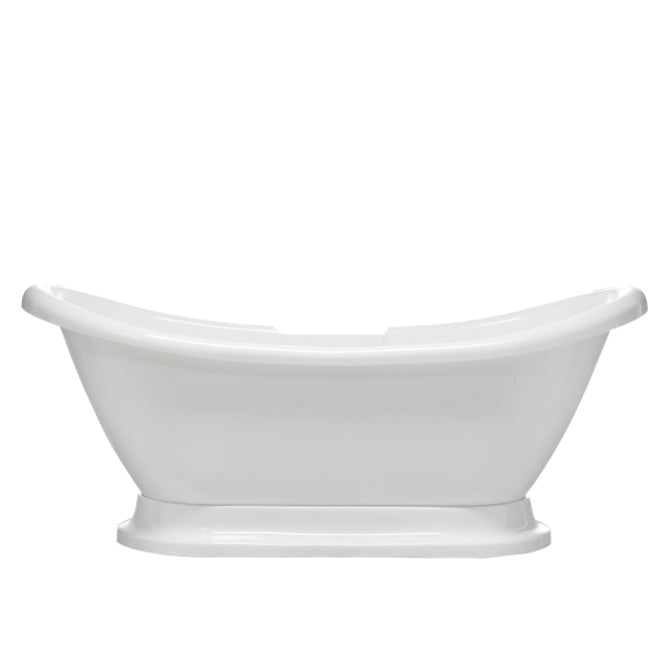 "Monterrey 63"" Acrylic Double Slipper Tub"