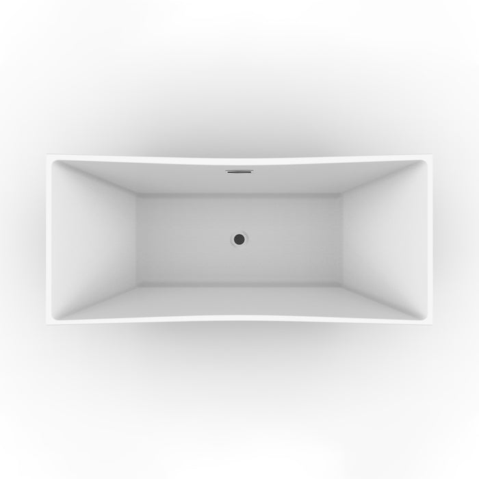 "Tanya 71"" Acrylic Tub with Integral Drain and Overflow"