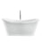 "Morgan 70"" Acrylic Double Slipper Tub"