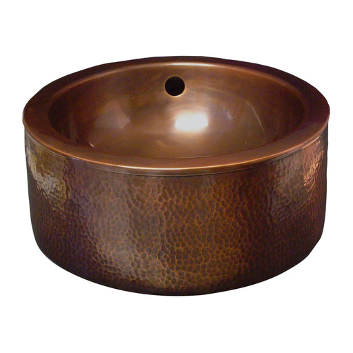 Colbran Copper Double-Walled Basin