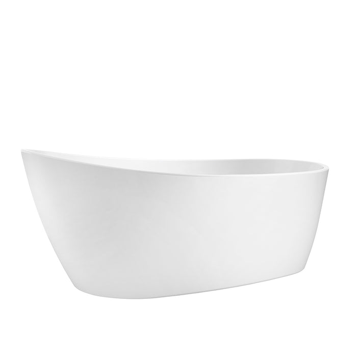 "Lorenzo 60"" Acrylic Slipper Tub"