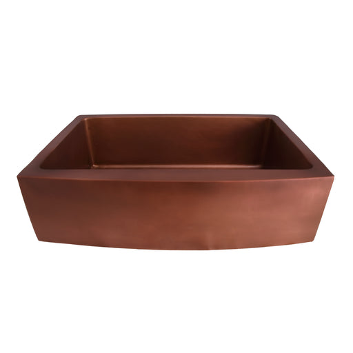 Emelina Single Bowl Copper Farmer Sink – 33″