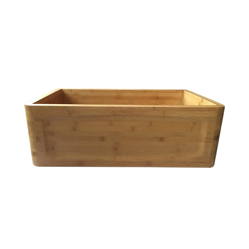 Poco Single Bowl Bamboo Farmer Sink
