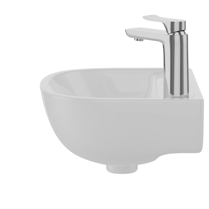 Compact 15″ Wall-Hung Basin
