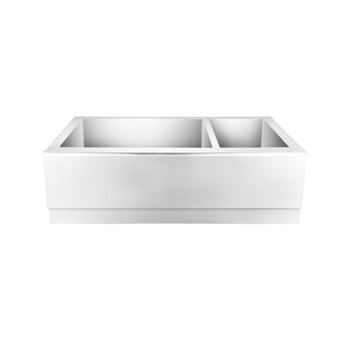 Caprice Double Bowl Stainless Farmer Sink