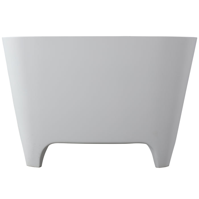 "Tristan 71"" Freestanding Resin Tub"