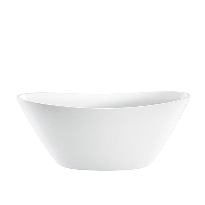 "Newman 62"" Acrylic Double Slipper Tub"