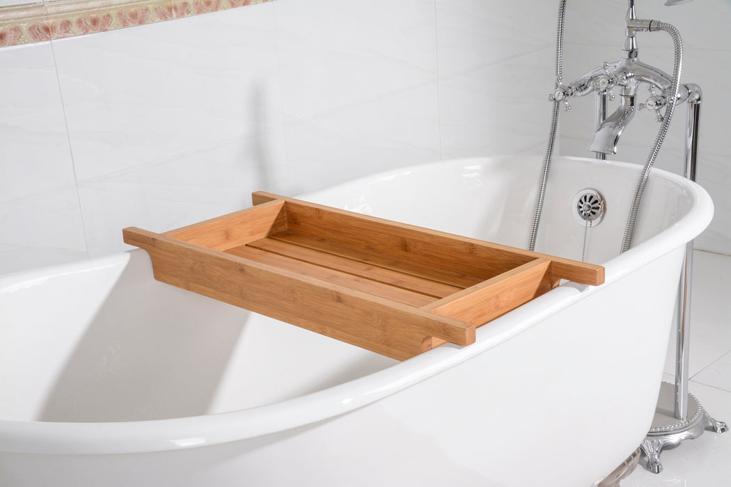 "33"" Bamboo Tub Caddy Shelf"