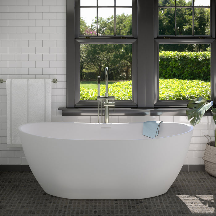 "Howe 65"" Resin Freestanding Tub"
