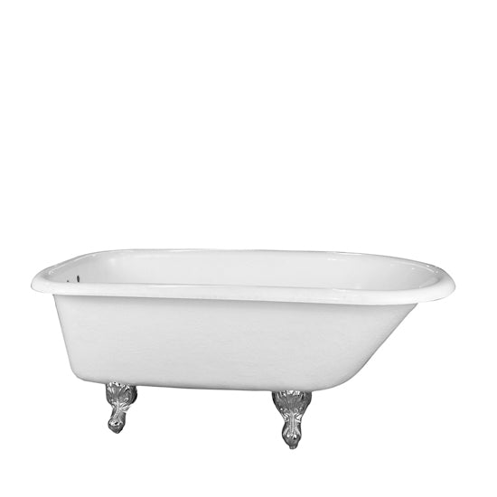 "Andover 60"" Acrylic Roll Top Tub"