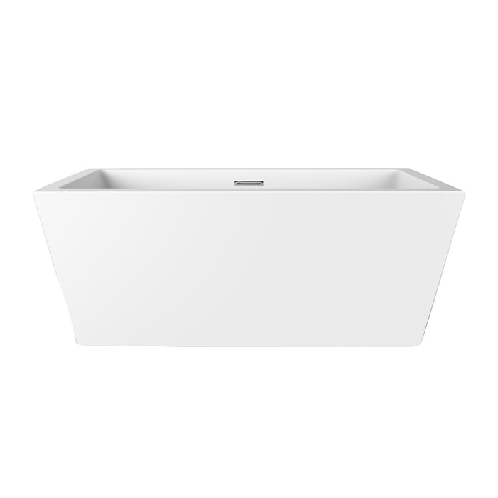 "Sheldon 59"" Acrylic Tub with Integral Drain and Overflow"