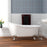 "Giselle 57"" Cast Iron Slipper Tub"