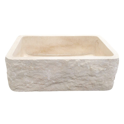 McKinley Single Bowl Marble Farmer Sink