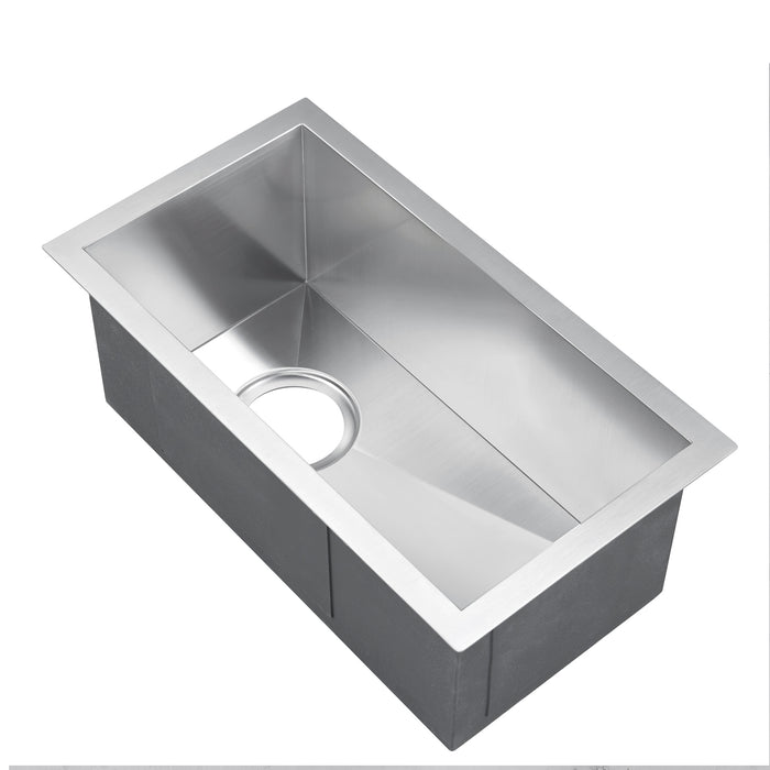 "11"" Ophelia Stainless Steel Prep Sink"