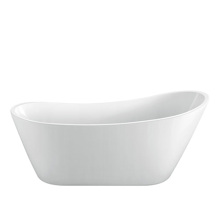"Malinda 65"" Acrylic Slipper Tub"