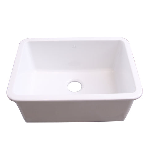 Orabella 27″ Drop-in/Undermount Fireclay Kitchen Sink