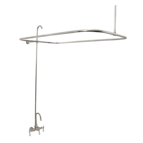 Tub/Shower Converto Unit – Gooseneck Spout for Cast Iron Tubs