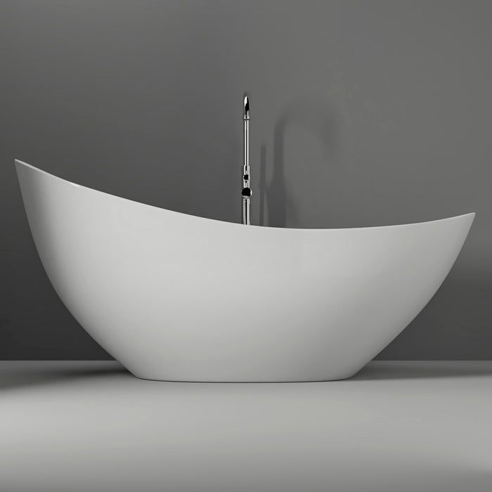 "Britta 73"" Resin Slipper Tub"